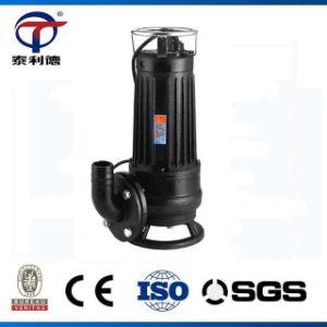 Wqas Vertical Non-Clogging Cortador sumergible de Aguas Residuales de la bomba de fecal