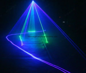 Для использования вне помещений DJ освещения сцены RGB цветной лазерный свет