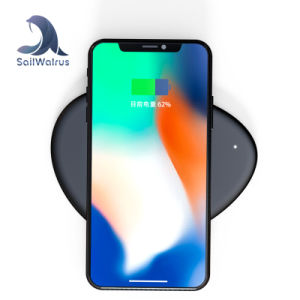 EU/Au/REINO UNIDO/EE.UU estándar de la toma de uso del teléfono móvil y cargador inalámbrico Pad para iPhone