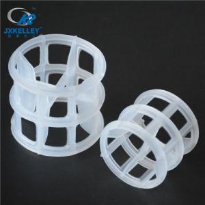 De plastic Media van de Filter van de Verpakking van de Toren van de Ring Hiflow Willekeurige