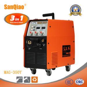 MIG MAG MMA Soldador multifunción blindado Gas potente máquina de soldadura (MAG-350S)