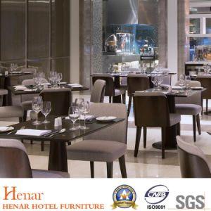 Novo luxo madeira sólida Restaurante Mobiliário Jantar define com mesa de jantar