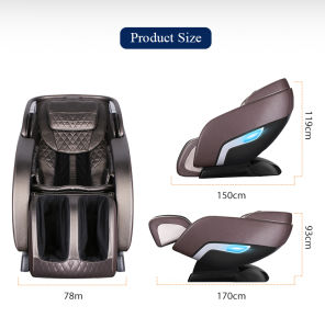 Cadeira de massagens de corpo inteiro, 3D SL via Luxury Rocking Masssage cadeiras