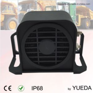 97dB alarme de voiture étanche utilisé sur la machine Deauty lourd