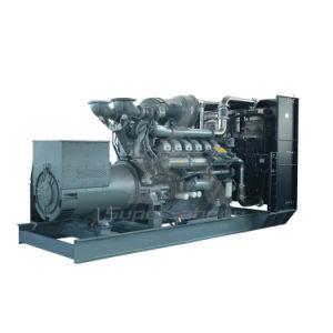 Bajo consumo de combustible diesel de 1500kw grupo electrógeno de motor por