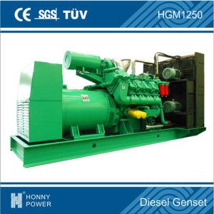 Stille de Diesel van de Macht 1125kVA/900kw Motor van Googol Reeks van de Generator