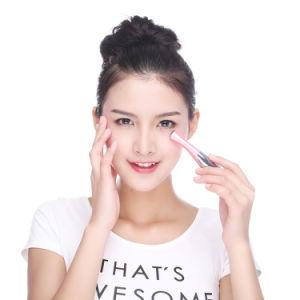 Cuidado de la belleza Mini aparato de masaje pluma Tipo eléctrico del ojo del Massager faciales vibración fina cara palillo mágico contra la bolsa bolsa de Arrugas y