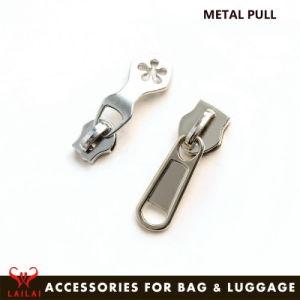 Fabrik-Großverkaufgunmetal-Farben-Metallreißverschluss-Schweber für Gepäck-Beutel