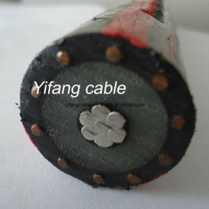 5KV-35kv (TS) de fita ou fio (WS) Single & Multi-Conductor Blindado