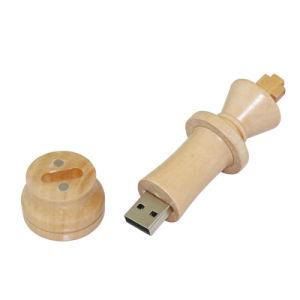 USB подарка логоса ручки u памяти USB привода пер шахмат приводов 4GB 8GB 16GB 32GB 64GB вспышки USB USB 2.0 древесины 100PCS/Lot подгонянный диском