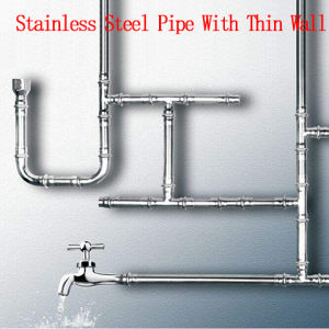 304 roestvrij staal Pipe met Thin Wall