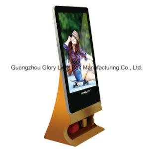 스크린 프레임을 광고하는 엘리베이터 잘 고정된 디지털 LCD