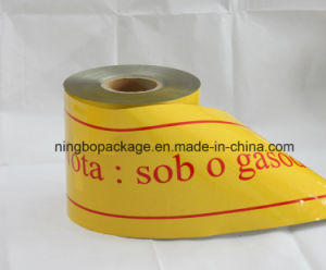 Warning in sotterraneo Tape con Yellow Color 4 ""