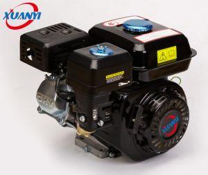 Het e-begin 168f 6.5HP kiest 4-slag Cyclinder de Motor 196cc van de Benzine uit
