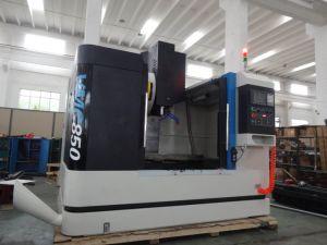 A VMC 850 3 Eixos Centro CNC Mini pequeno torno mecânico de moagem de CNC Vertical