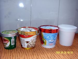 Ice Cream Cup를 위한 서류상 Lid Making Machine