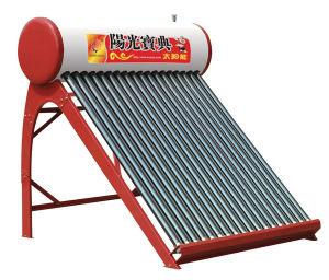 Chauffe-eau solaire (de couleur de la série d'acier) ST-B-601 (Vénus Support) 15-36PCS