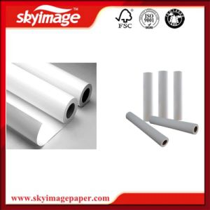 Fw pegajoso70/80/90/100Transferência por sublimação de tinta de secagem rápida GSM Rolo de papel para o vestuário, acessórios, Sinalização