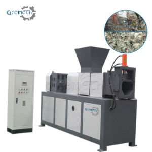 洗濯機をリサイクルするPE PPのフィルムの無駄のプラスチック