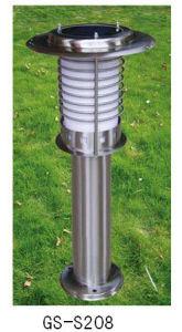 Venta caliente al aire libre jardín de la Energía Solar decorativa de acero inoxidable, luces LED Solares