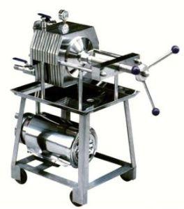 스테인리스 음식 급료 격판덮개 압박 기름 여과 기계 (BAS100)