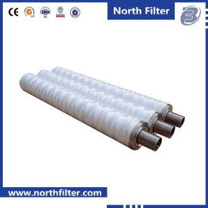 String de PP filtros de cartucho ferida no tratamento de água