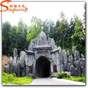 China Fabricante decoração de jardim de esculturas Rockery Rockery pedra artificial