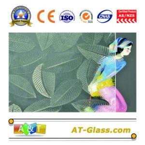 het Duidelijke Hibiscus Gevormde Glas van 38mm dat voor Venster, Meubilair, enz. wordt gebruikt