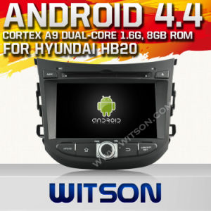 Witson Android 4.4 System Car DVD per Hyundai Hb20 (W2-A7026)