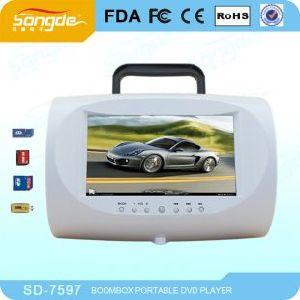 Boombox/DVD Boombox 또는 휴대용 DVD 플레이어 (SD-7597)