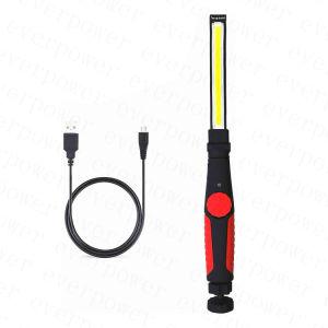 Аккумулятор поворотный переключатель ССБ 5 Вт светодиодный фонарик с магнитным для работы