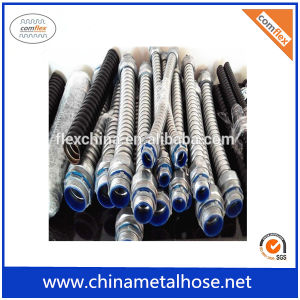 Conducto metálico flexible resistente al agua
