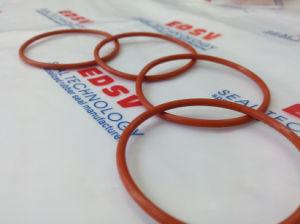 De rode O-ring van Si van het Silicium van het Silicone