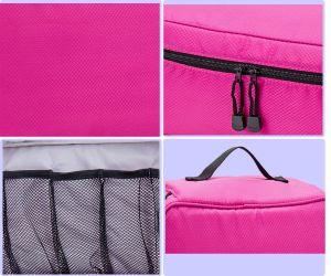 Sous-vêtements soutien-gorge de l'organiseur d'Emballage Sac de rangement de la lingerie de voyage pochette sac à main de l'Organiseur de toilette Sac de maquillage cosmétiques Bagagerie cas pour les produits cosmétiques