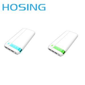 Рекламные 20800mAh банка питания USB для телефонов Банка питания зарядного устройства