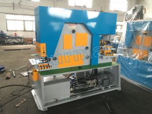 金属の打つ切断の曲がる機械金属のユニバーサル鉄の労働者の穿孔器およびせん断機械製鋼職工の価格のための多目的油圧鉄工