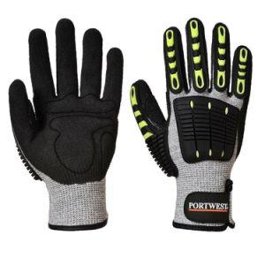 Handschoen van de Arbeid van het Werk van de Veiligheid van de besnoeiing de Bestand Beschermende Werkende met het Nitril van het Schuim TPR