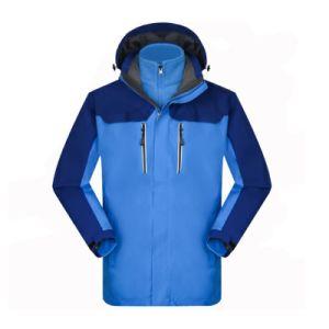 Les hommes de plein air Voyage randonnée manteau d'hiver Veste 3 en 1 avec le capot