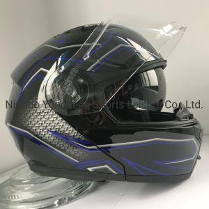 Aliexpress vender quente Aprovados ECE Flip Up capacete de motocicleta ABS