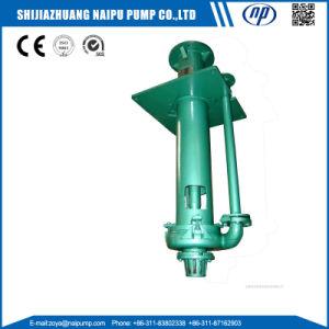 Alta capacidad de agua sumergible bomba centrífuga vertical con revestimiento de goma