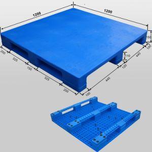 1200X1200 Plastic Pallet van het Dek van de Lading van de lage Prijs de Hoge Grote Gesloten