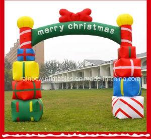 Decorazioni Natalizie Gonfiabili.Decorazione Gonfiabile Gigante Di Natale Regali Gonfiabili Di Natale