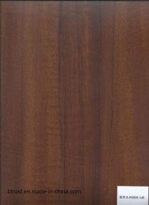 De houten Film/de Folie van pvc van de Korrel Decoratieve voor Pers Bgl173-178 van het Membraan van het Kabinet/van de Deur de Vacuüm