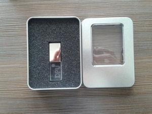 低価格3Dのロゴは会社のギフトとして水晶フラッシュ駆動機構の大きさの卸売USBのフラッシュ駆動機構2GB 4GB 8GB 16GBを刻む