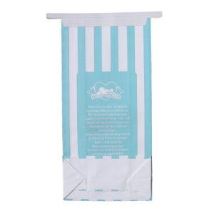 Sacos de papel Kraft resseláveis, pipoca Cookie sacos sacos com janela e retenção de estanho