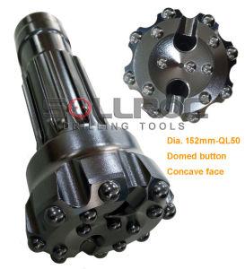 Giù l'utensile a inserti del foro Ql60-178mm DTH per  martello 6