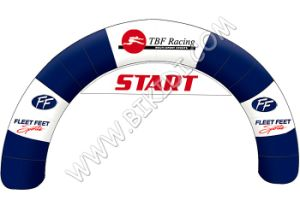 Promotion K4064のための両面Printing Outdoor Event Inflatable Entrance Arch Advertizing Inflatable Arch
