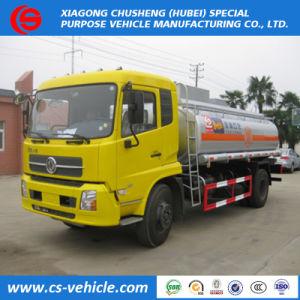 Prix bon marché 4X2 Small 8000 litres de capacité réservoir d'huile pour l'Angola du chariot