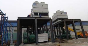 Net 138 Kwe Electricity에 Flow Rate 2.5t/Hr에 100 Cel에 Orc Screw Generator Recovers Steam