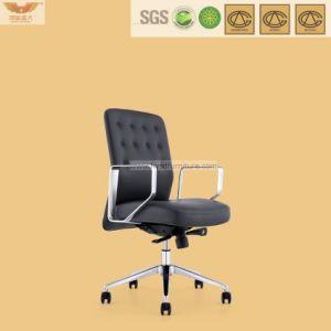 Muebles de oficina ejecutiva de cuero silla ejecutiva de la base de aluminio